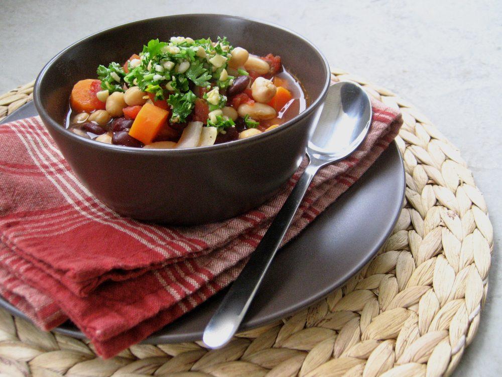 Karli Manson's Three Bean Chili