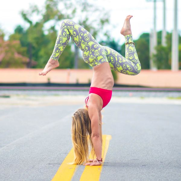 VeganSmart Yoga Leggings By Liquido