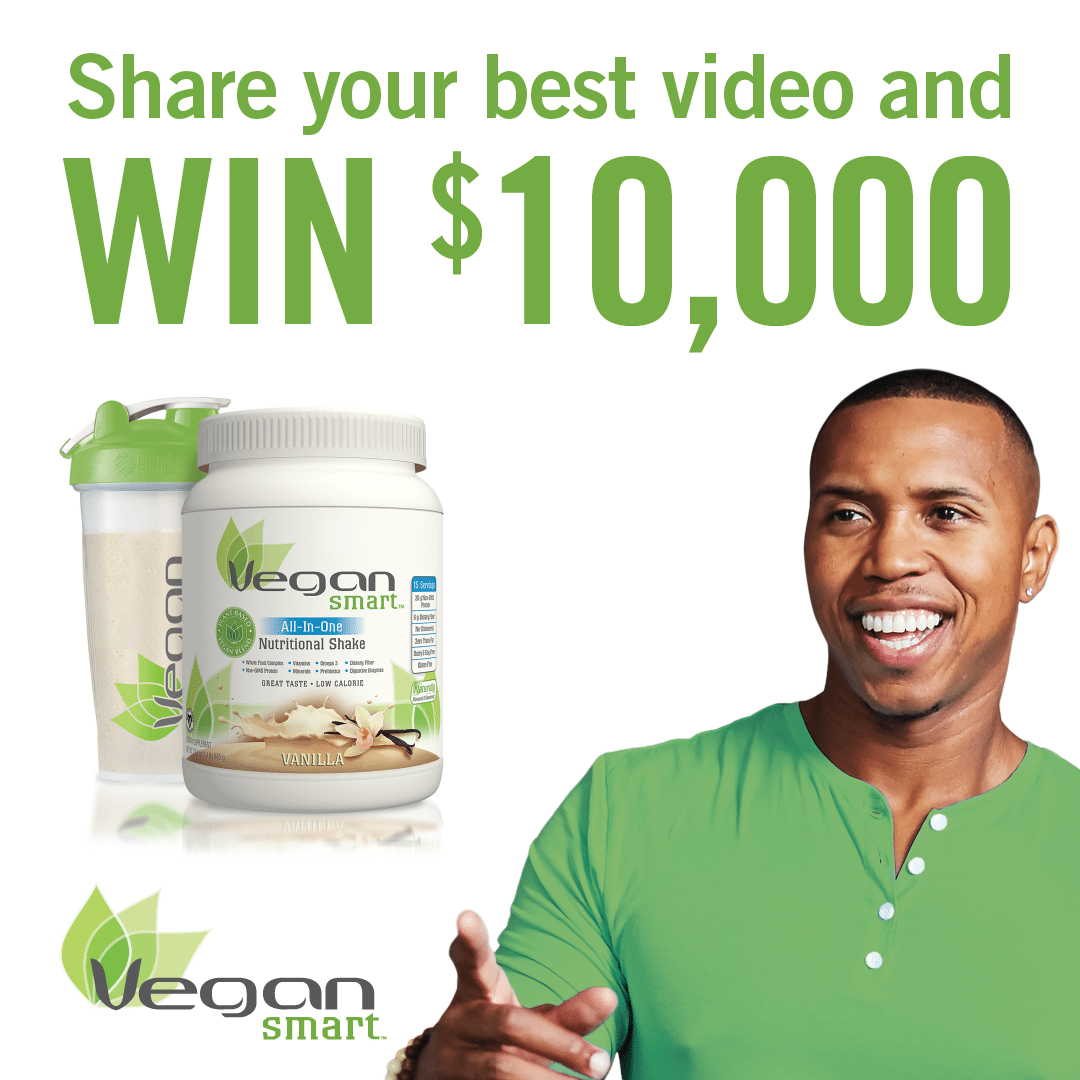 Protein Shaker John Lewis: WIN $10,000 By Entering The Are You VeganSmart Contest